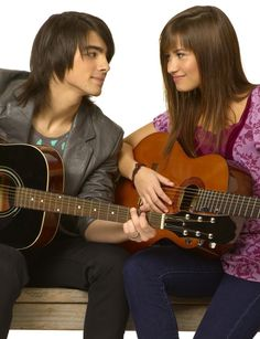 Demi L and Joe J- Camp rock