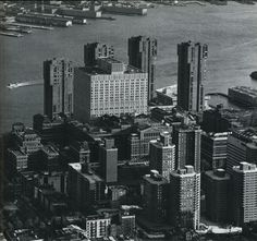 Bellevue Hospital Center - New York City from 1970s in Black & White