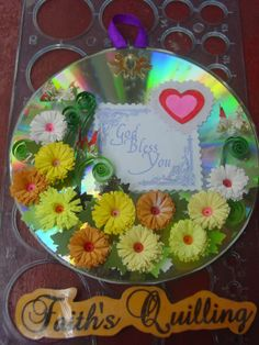 Faith's Quilling : Quilled CD Wall Hangings