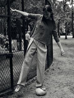 Julia Bergshoeff by Gregory Harris for Vogue Paris August 2015 8