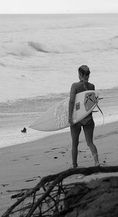 Surf surfing barrel wave sea beach girl...