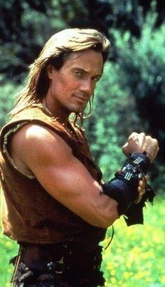 Kevin Sorbo as Hercules in Hercules: The Legendary Journeys.