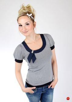 """T-Shirts mit Applikation - MEKO Shirt """"HOTTY_5"""" - ein Designerstück von meko bei DaWanda"""
