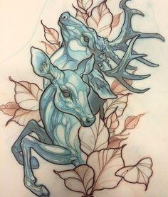 Neo Traditional Tattoo Photo Example