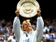 Martina Navratilova, Wimbledon Champion