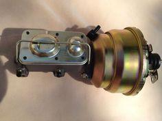 67 68 69 70 71 72 Chevy truck power brake booster & master cylinder NEW warranty