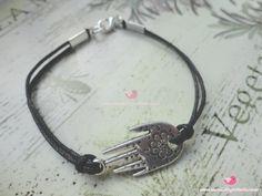 Braccialetti mano di Fatima    http://www.mondobigiotteria.com/kit-per-creare/bracciale/