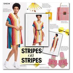 """Pattern Challenge: Stripes on Stripes"" by smajlovicelvira ❤ liked on Polyvore featuring Aromatherapy Associates, Chanel, KAOS, stripesonstripes and PatternChallenge"