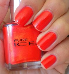 Pure Ice Nail Polish - Hot Tamale $5.25