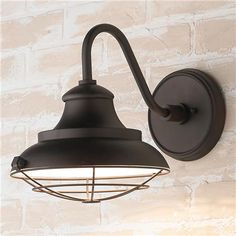 Add restoration style to your urban farmhouse, city loft or country retreat with these burnished bronze outdoor wall sconces 100 watt medium base bulb. Garage Lighting, Barn Lighting, Outdoor Wall Lighting, Exterior Lighting, Sconce Lighting, Lighting Ideas, House Lighting, Lighting Shades, Cottage Lighting