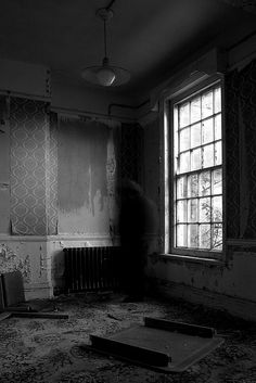 Not all abandoned homes are empty.