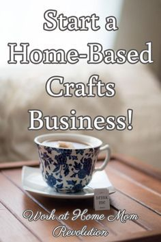 One of the best ways to make money from home is by starting a home crafts business! Sell your homemade crafts online through Etsy, Pinterest, and Facebook!