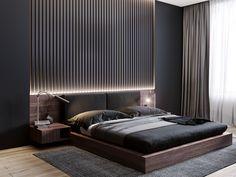 40 Easy Minimalist Bed room Design Concepts You Like room - Decor Ideas Black Bedroom Design, Master Bedroom Interior, Bedroom Closet Design, Bedroom Furniture Design, Modern Master Bedroom, Home Room Design, Bedroom Black, Master Suite, Ikea Bedroom