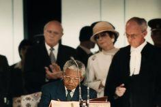 Nelson Mandela: Nelson Mandela on Inauguration Day