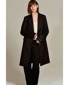 Image 1 of LONG MASCULINE STUDIO COAT from Zara