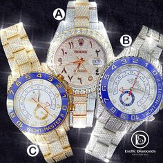 Comment below and let us know which one you would like to add in your rolex collection... DM US OR Buy on our website 💻 www.exoticdiamondsa.com Call us ☎️ : +1 210 927 7787 We offer Financing and Layaway 36 months interest free financing available... @exoticfreeze @exoticdiamondsa #rolexwatch #rolex #watchesofinstagram #rolexsubmariner #rolexwatches #watches #rolexdatejust #watch #rolexdaytona #watchoftheday #watchfam #rolexaholics #rolexero #watchaddict #watchcollector #rolexlover #role Luxury Watches, Rolex Watches, Cartier Santos, Fathers Day Sale, Pre Owned Rolex, Rolex Daytona, Rolex Submariner, Cover Photos, Custom Jewelry