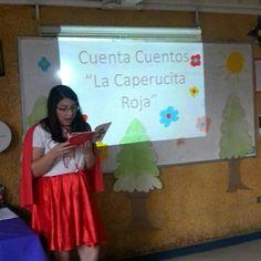 Con motivo de celebrar el día internacional del libro, apoderadas y profesora, del 3 añoD, sorprenden a los estudiantes con un cuenta cuento en la sala, donde las verdaderas estrellas son nuestras apoderadas!!!!! Niñoss FELICESSS