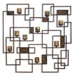 #123-UTM-20850 Uttermost Siam Candle Light Wall Sconce by sensationaltreasures