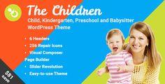 The Children - Child, Kindergarten and Babysitter WordPress Theme