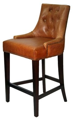 restaurant high chairs & bistro chairs :: antique coco top grain