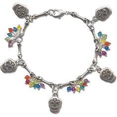 Jewelry Tutorial: Flore de Muertos Bracelet | Jewelry Ideas | Rings & Things
