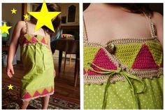 Robe Mu (couture - crochet)