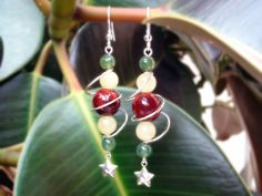 Space Age Spiral Earrings by tinkerSue on DeviantArt