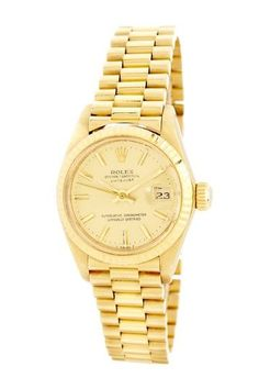 Rolex Womens Datejust Yellow Gold Watch. Dream watch!