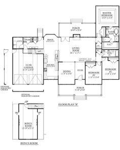 House Plan 2288-A The DUNCAN A 2nd floor | House Plans by Southern ...