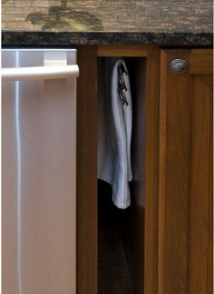 Eco-Fridley kitchen towel rack! Reuse, Reduce, Recycle!