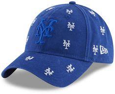 buy online d3106 296e9 New Era Women New York Mets Logo Scatter Adjustable 9TWENTY Cap Royal Logo, New  York