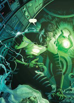 Green Lantern Kyle Ryner by Ethan Van Sciver