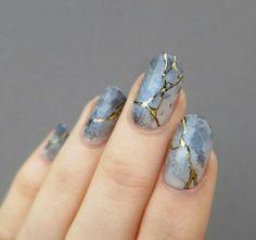 Interesting nail art