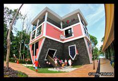 Phuket Upside Down House #Phuket #thailand #travel