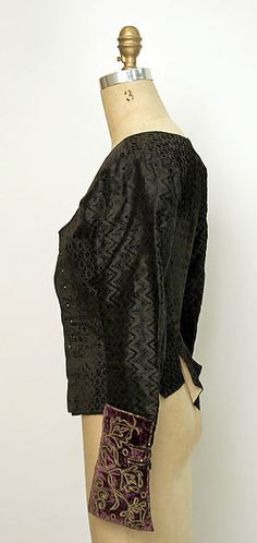 Jacket. Ensemble Date: late 19th century Culture: Spanish