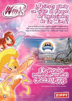 ¡Sorteo español de un viaje al parque de atracciones Rainbow MagicLand! http://poderdewinxclub.blogspot.com.ar/2013/11/sorteo-espanol-de-un-viaje-al-parque-de.html