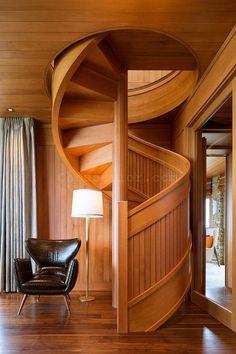 Design Concept Wooden Staircase