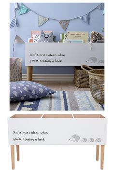 Organisieren Sie sich – The Nursery & Little One Schlafzimmer – The Interior Editor - Kinderzimmer Kids Bedroom Storage, Kids Bedroom Furniture, Kids Storage, Book Storage Kids, Nursery Storage, Storage Cart, Furniture Projects, Rustic Furniture, Baby Bedroom