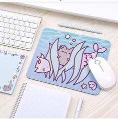 pusheen mouse pad!!