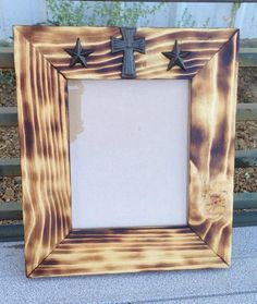 Western Picture Frame 8x10 by RusticRoadDesigns on Etsy, $40.00