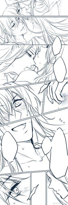 3/3 Anime Chibi, Manga Anime, Neko, Kawaii Chan, Chinese Cartoon, Yuri, What To Draw, Shounen Ai, Monster