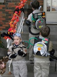 Ghostbusters Costume wish my boys would be this!