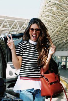 Luiza Sobral | airport look sobreposição |