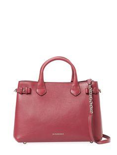 Banner Medium Leather Tote from Designer Handbag Shop: Perfect Carryalls on Gilt