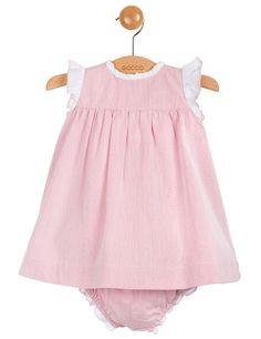 Vestido mil rayas y volante | Moda de bebe | Gocco.es - Tienda oficial Gocco