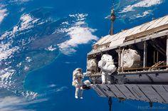 Spacewalk Over New Zealand