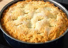 Amerikai almás pite   Antukné Ildikó receptje - Cookpad receptek Apple Pie, Mashed Potatoes, Deserts, Muffin, Food And Drink, Sweets, Fresh, Cookies, Baking