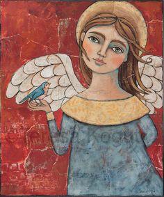 """Generous"" Original Painting by Teresa Kogut"