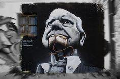 El arte urbano de Man o Matic Writer