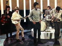 Stones performing. Look at Brian's pose!